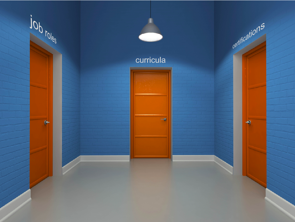 Choose one door